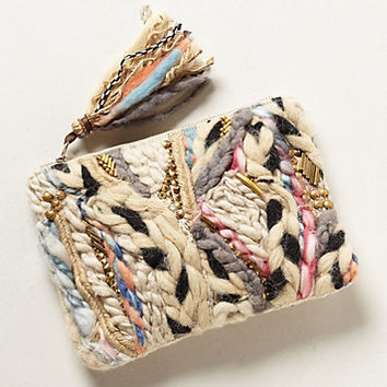 Woven Tapestry Pouch