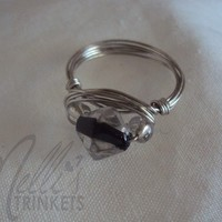 Melli's Trinkets | White Ring | Online Store Powered by Storenvy