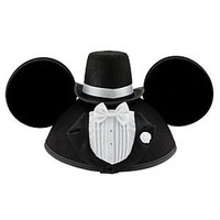 Personalizable Tuxedo Groom Mickey Mouse Ear Hat for Men | Disney Store