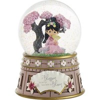 Disney Mulan Musical Snow Globe A Blossom Is Never Too Late To Bloom