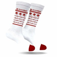 KUSH-N-OUT CREW SOCKS (RED)