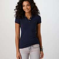 AE Short Sleeve Polo | American Eagle Outfitters