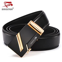 New Arrival Designer Genuine Leather Men Belts High Quality Automatic Buckle Belt Man Strap