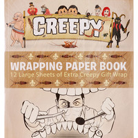 Creepy Wrapping Paper Set