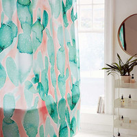 Jacqueline Maldonado For DENY Paddle Cactus Shower Curtain - Urban Outfitters