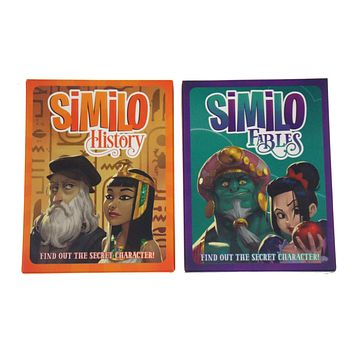 Similo History Fables Find Out The Secret Character Set 2 Luma Card Game Clues