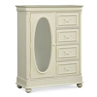 Legacy Charlotte Door Chest In Antique White