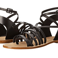Band of Outsiders Low Strappy Sandal Black - Zappos.com Free Shipping BOTH Ways
