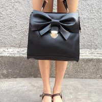 Bow Handbag from Handpicked