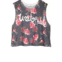 Unstoppable Floral Tank - Multi