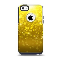 The Orbs of Gold Light Skin for the iPhone 5c OtterBox Commuter Case