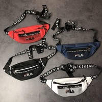 Fila Canvas Mesh Waist Bag Belt bag