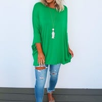 Pinch Patrol Tunic: Green