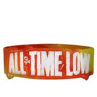 All Time Low Tie Dye Wristband, Exclusive To Grindstore - Buy Online at Grindstore.com