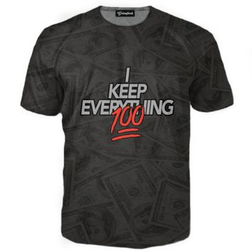 I Keep Everything 100 Tee