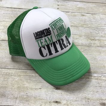 Lagunitas Brewing Company TEAM CITRA White / Green Trucker Hat