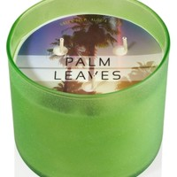 3-Wick Candle Palm Leaves