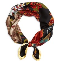 Floral Silk Square - Brooks Brothers