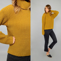 80's Chunky KNIT Sweater