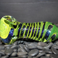 Extra Thick Twisty Heady Glass Hand Pipe
