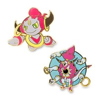 Hoopa Unbound and Hoopa Confined Pokémon Pins (Evo 2 Pack)