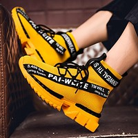 New Style Thick Bottom Running Shoes For Sneakers Outdoor Sport Shoes Training Athletic Jogging Shoes
