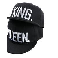 Embroidery Snapback Hat Acrylic Men Women Couple Baseball Cap Gifts Fashion Hip-hop Caps