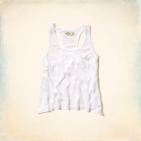 Point Vicente Drapey Knit Tank