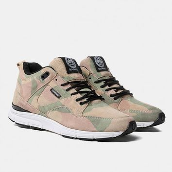 Gourmet The 35 Lite Camo LX Shoes - Camo/White | Urban Industry