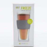 HOST Freeze Cooling Pint Glass - Urban Outfitters