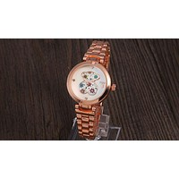 TOUS 2018 men and women with the trend of fashion high-end quartz watch F-YY-ZT rose gold
