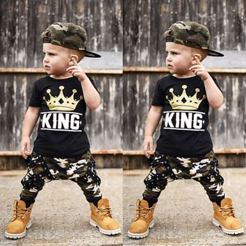 Summer Clothing For Baby Boy Casual Outfit For Toddler Boy