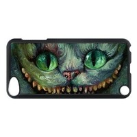 Vcapk Popular Fairy Tale Alice in Wonderland Cheshire Cat Grinnig iPod Touch 5,5G,5th Generation Hard Plastic Phone Case