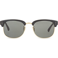 LINDA FARROW - LFL293 black acetate sunglasses | Selfridges.com