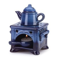 Country Kitchen Ceramic Kettle Stove Oven Oil Warmer:Amazon:Home & Kitchen