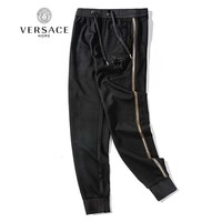 VERSACE Fashionable Women Men Casual Embroidery Running Pants Trousers Sweatpants