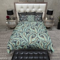 Piranha and Octopus Duvet Bedding Sets