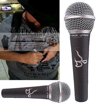 Colt Ford Autographed Pyle Microphone, Country Musician, Proof
