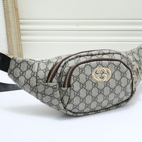 Gucci Trendy simple versatile printed waist bag chest bag 1#