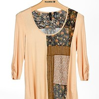 BKE Boutique Pieced Top - Women's Shirts/Tops   Buckle