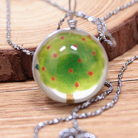 Vintage Style Handmade Tree Necklace Gift 154