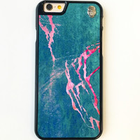 Green Marble Storm iPhone 6/6s Case