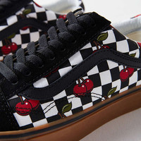 Vans Cherry Checkerboard Old Skool Sneaker | Urban Outfitters
