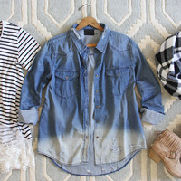 The Boyfriend Denim Shirt