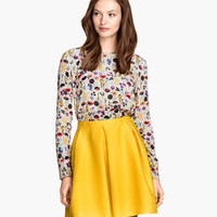H&M Skirt with Pleats $29.95
