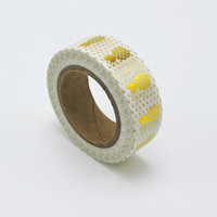 Gold Pineapple Washi Tape (Wanelo Special)
