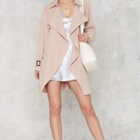 Trench Warmer Belted Coat
