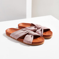 Supple Suede Twist Slide | Urban Outfitters