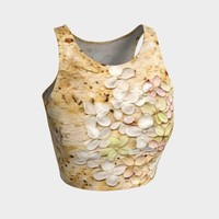 Pretty Petals - Crop Top - Yoga or Fitness