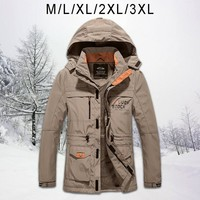 2019 New Men's Pizex For Autumn And Winter Long Outdoor Outfit For New Products Windbreaker Casual Clothes Windproof Waterproof